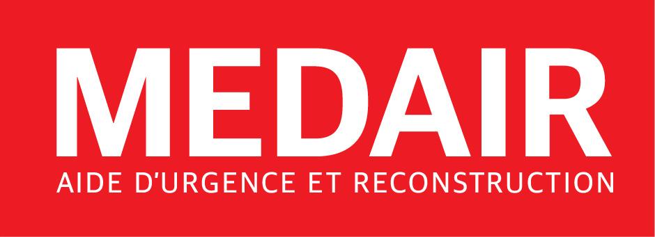 LOGO MEDAIR AIDE URGENCE ET RECONSTRUCTION